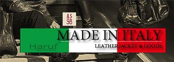 イタリア製レザージャケットレザーバッグ